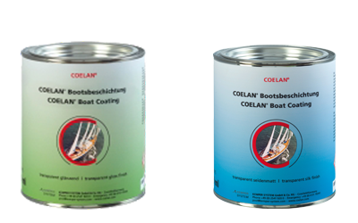 COELAN Boat Coating Wood tins