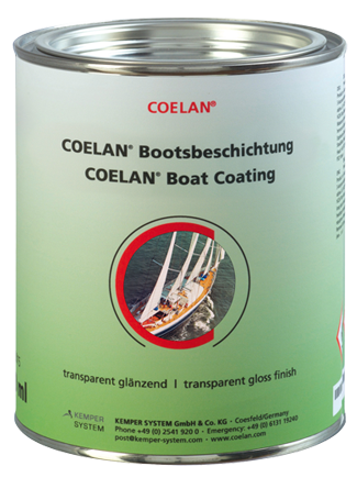 COELAN Boat Coating Wood gloss